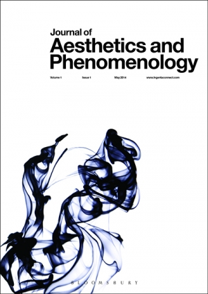 NEW! Journal of Aesthetics and Phenomenology